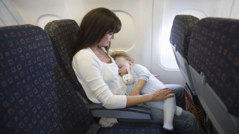 перелет с грудным ребенком