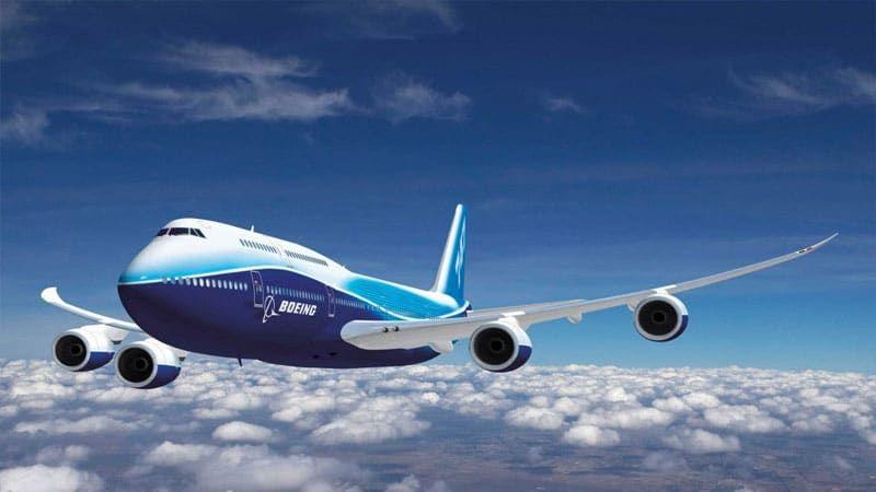 самолет поднимается на высоту