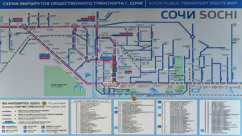 как добраться из аэропорта Сочи до центра Сочи
