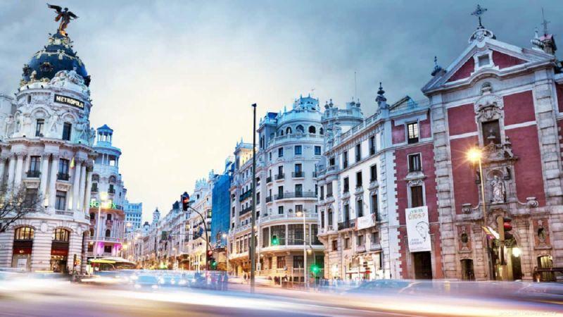 добраться из аэропорта Мадрида в центр Мадрида
