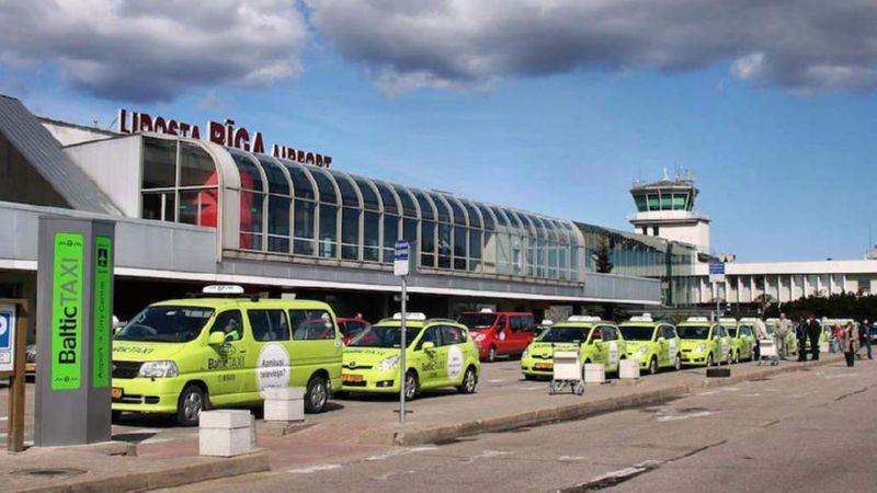 добраться из аэропорта Риги до центра Риги