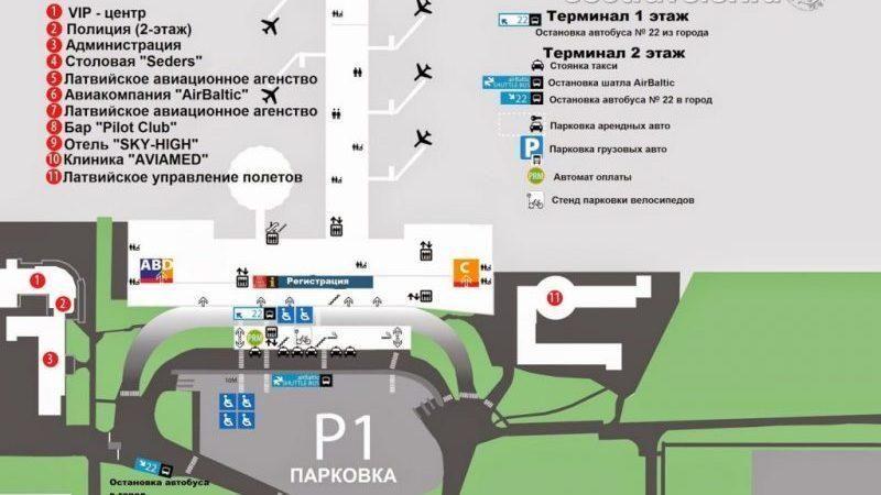 как добраться до города из аэропорта Риги