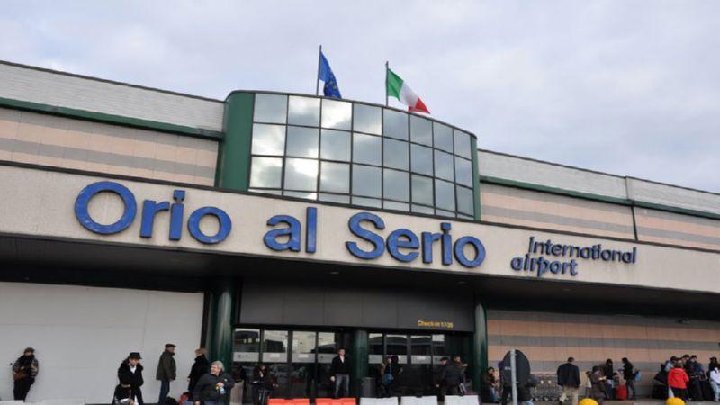 доехать до аэропорта Бергамо из Бергамо