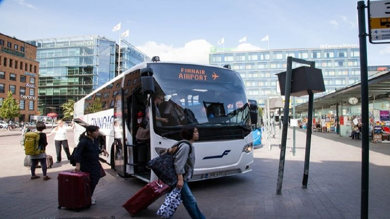 добраться до аэропорта Хельсинки от жд вокзала