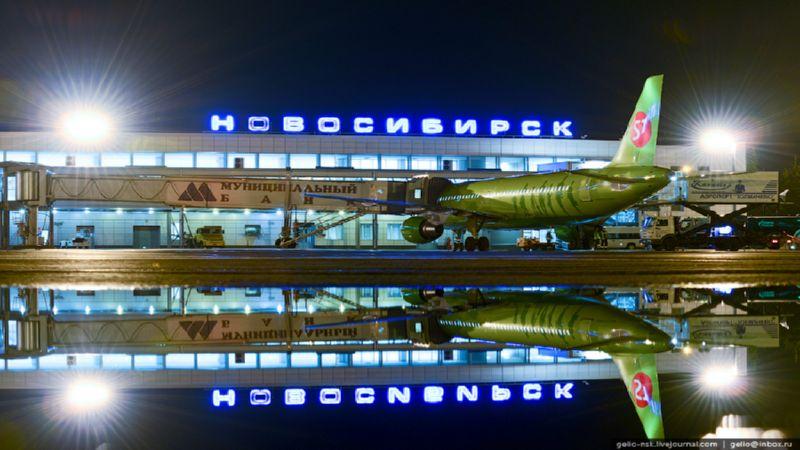 как доехать до аэропорта в Новосибирске от жд вокзала