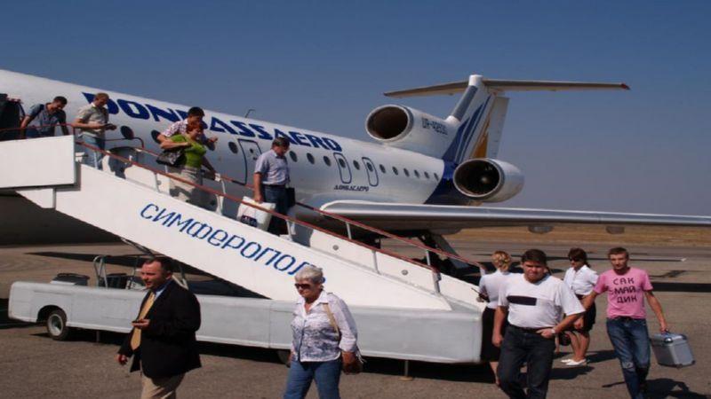 как добраться до аэропорта Симферополя из Севастополя