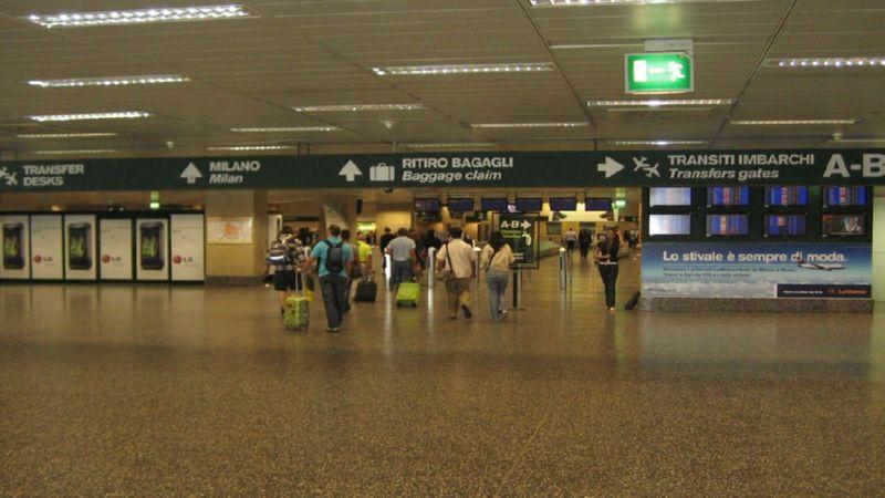 доехать из аэропорта Милана до Милана