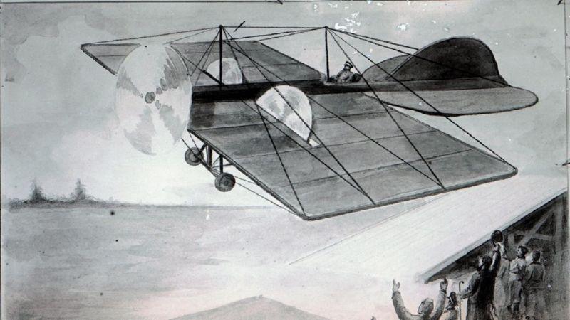 в какое время был построен первый самолет