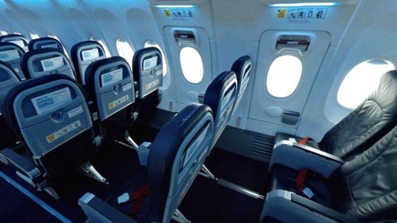 схема салона Боинг 737-800