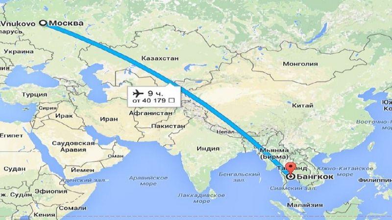 разница во времени между Тайландом и Москвой