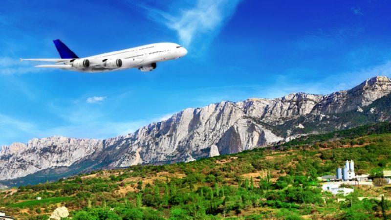 билет в Крым на самолет