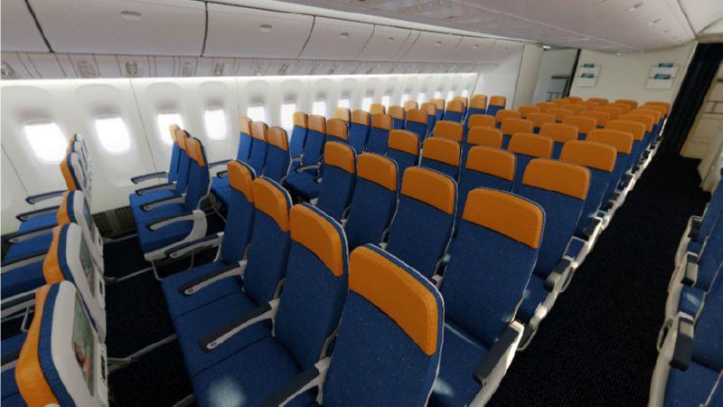 схема салона boeing 777