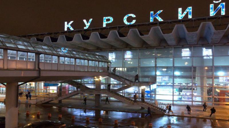 добраться с Курского вокзала до Внуково