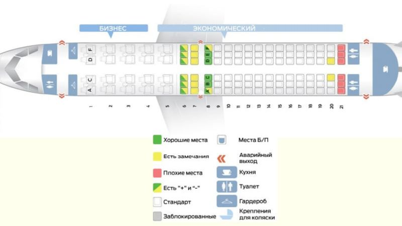 схема самолета аэробус 320 Аэрофлот