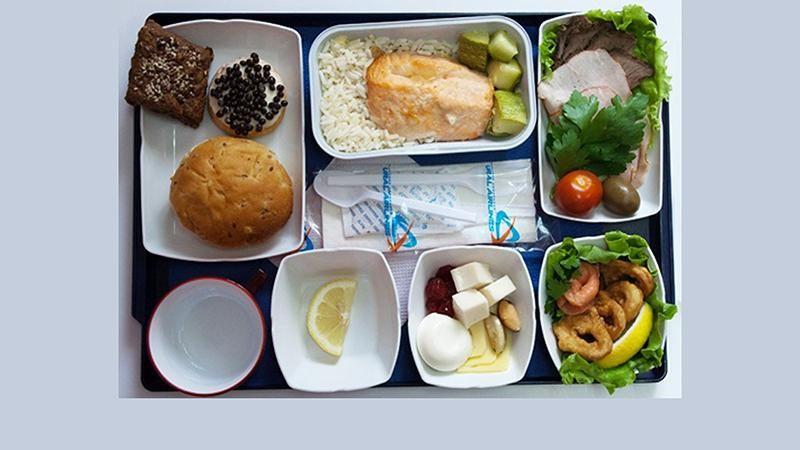 питание в самолете эконом класса