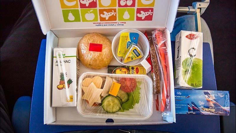 питание на борту Аэрофлот