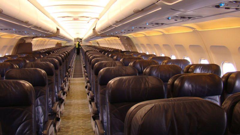 Airbus industrie A321 Уральские авиалинии схема салона