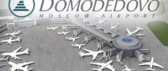 схема аэропорта Домодедово