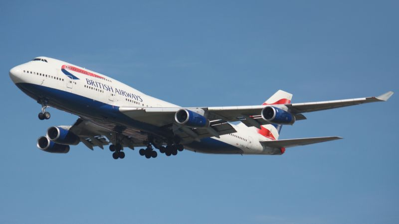 вес самолета Боинг 747