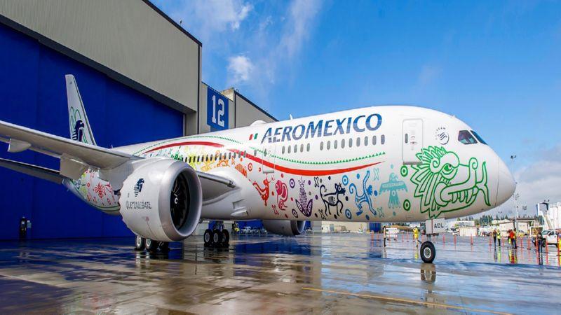 время полета Москва - Мексика