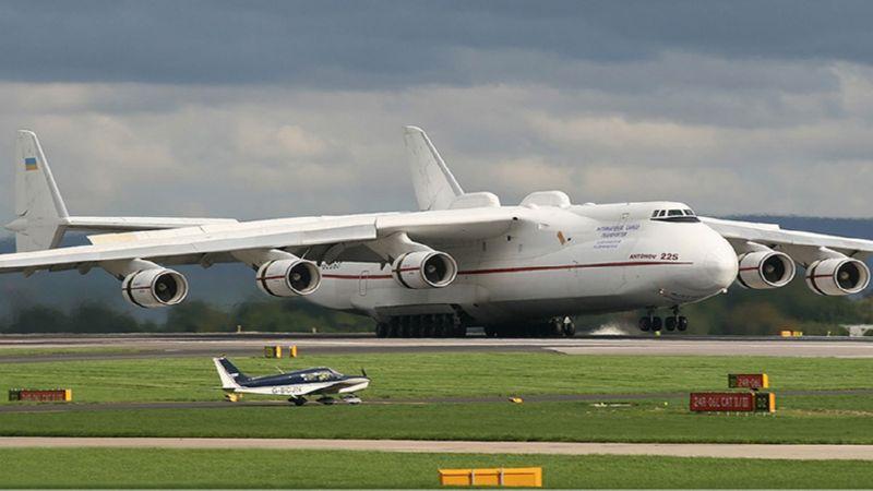грузоподъемность самолета Мрия