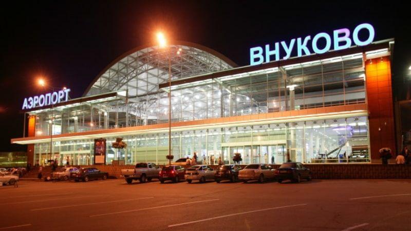 Внуково на карте метро Москвы