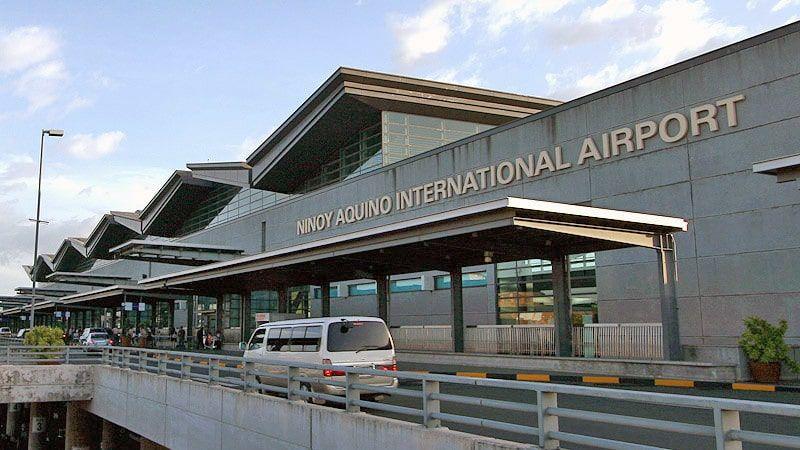 время полета Москва - Филиппины