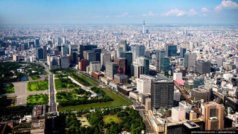 перелет Москва - Токио время в пути